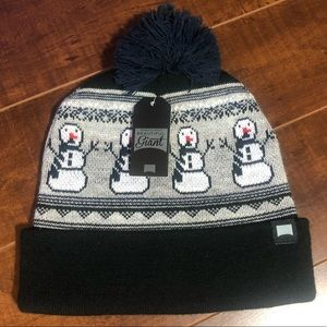 "Snowman ""Ugly Sweater"" Christmas Beanie"